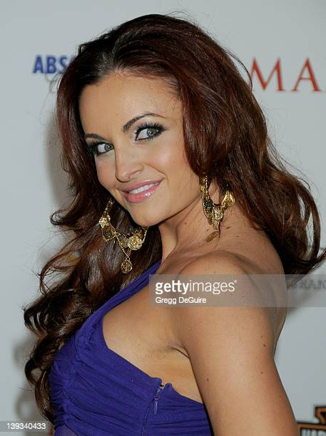 Maria Kanellis arrives at the 11th Annual Maxim Hot 100 Party at Paramount Studios on May 19 2010 in Los Angeles California