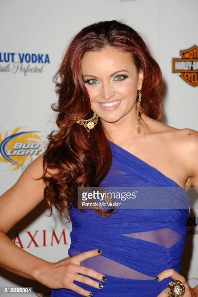Maria Kanellis attends THE MAXIM HOT 100 PARTY 2010 at Paramount Studios on May 19 2010 in Hollywood California
