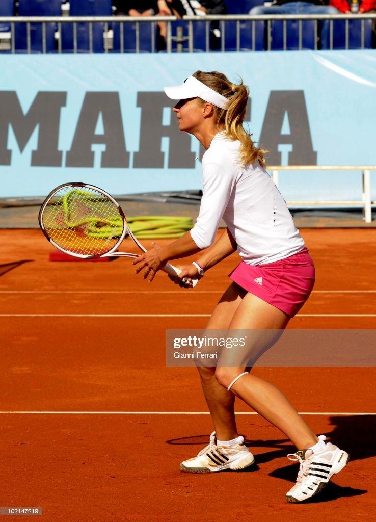 Maria Kirilenko, RUS, in the tennis 'Mutua Madrilena Madrid Open', 8th May 2010, 'La Caja Magica', Madrid, Spain.