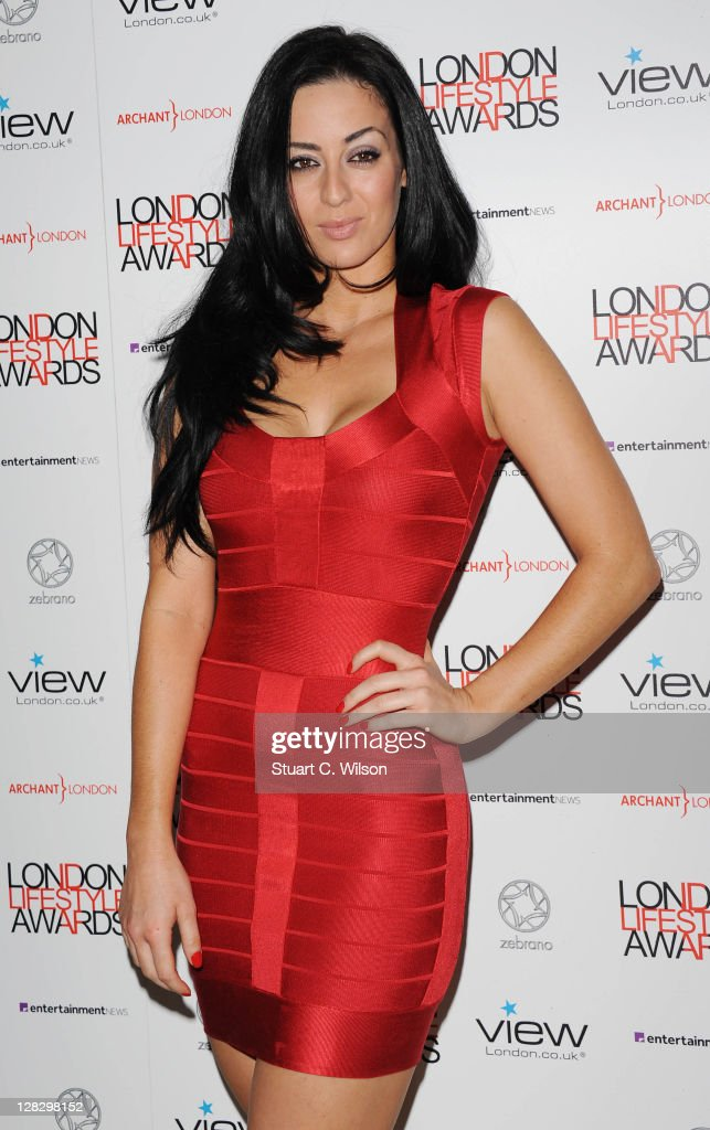 Maria Kouka attends the London Lifestyle Awards 2011 at Park Plaza Riverbank Hotel on October 6, 2011 in London, England.
