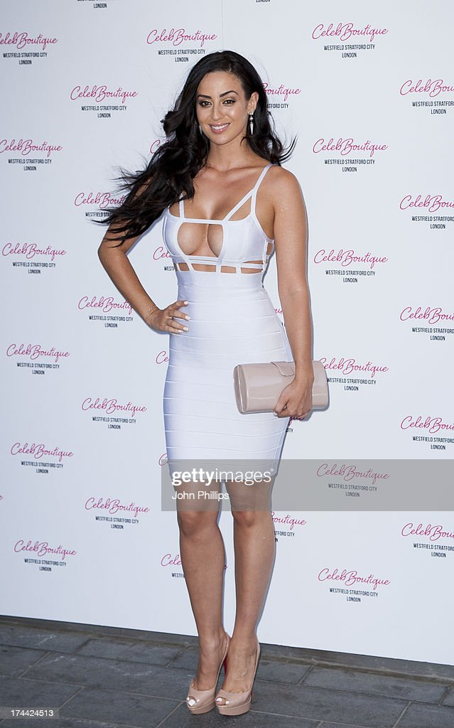 Maria Kouka attends the store launch party at CelebBoutique, Westfield Stratford City on July 25, 2013 in London, England.