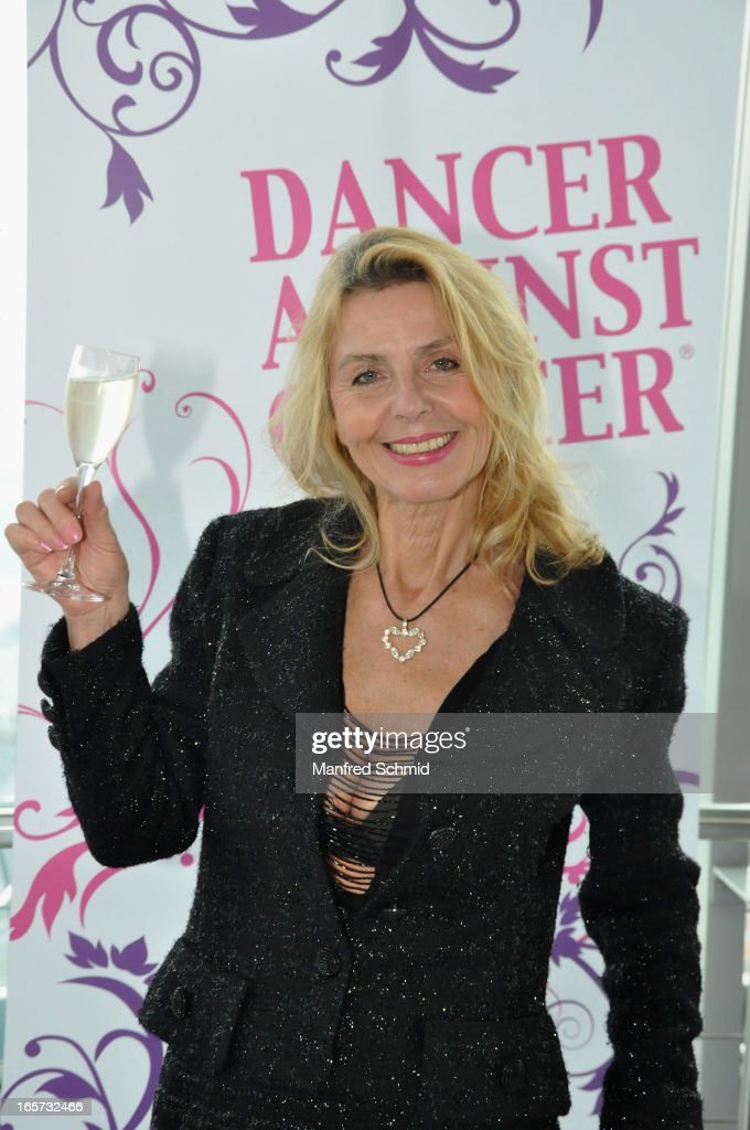 Maria Lahr poses during a press conference for the 'Dancer Against Cancer' Fruehlingsball at Donauturm on April 5, 2013 in Vienna, Austria.