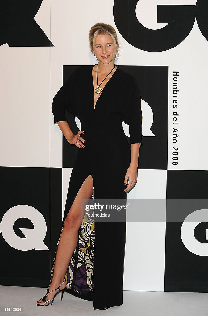 Maria Leon attends 2008 GQ Magazine Men of the Year Awards ceremony at the Palace Hotel on November 24 2008 in Madrid Spain