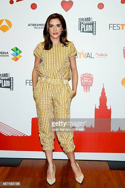 Maria Leon attends 'Alli Abajo' photocall during FesTVal Murcia 2015 on March 25 2015 in Murcia Spain