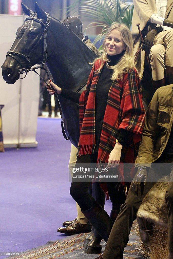 Maria Leon attends Madrid Horse Week Fair 2012 at Ifema on December 22, 2012 in Madrid, Spain.
