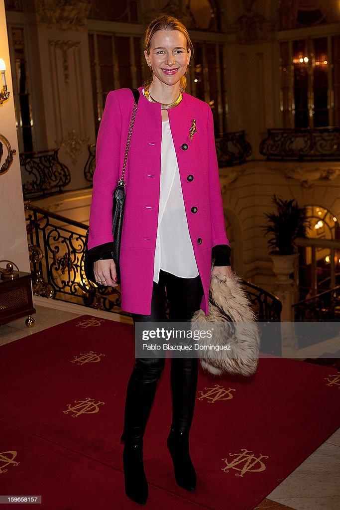 Maria Leon attends new book 'Belleza Inteligente' presentation at Casino de Madrid on January 16, 2013 in Madrid, Spain.