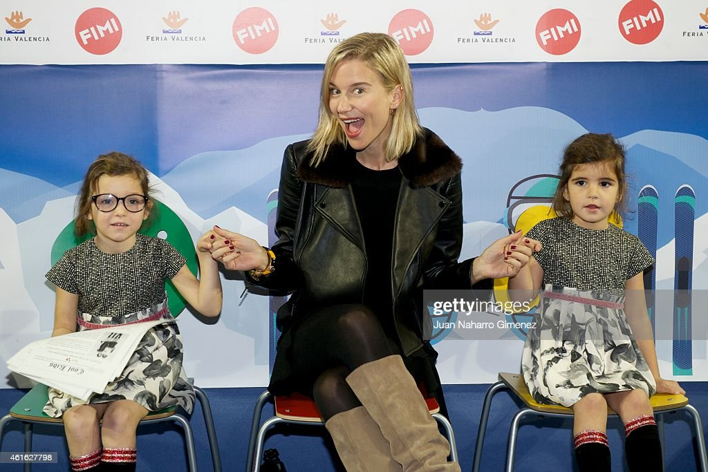 Maria Leon attends 'NV' photocall at the FIMI Madrid Arena 2015 on January 16 2015 in Madrid Spain