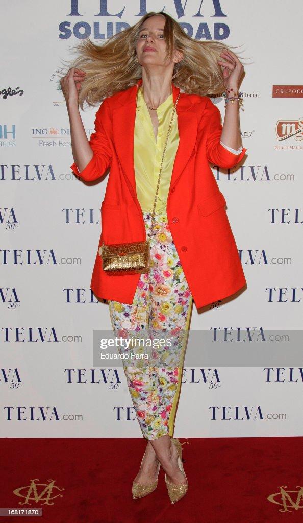 Maria Leon attends 'Telva Solidaridad' awards 2013 at the Casino de Madrid on May 6 2013 in Madrid Spain