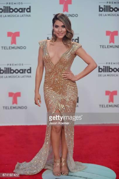 Maria Leon attends the Billboard Latin Music Awards at Watsco Center on April 27 2017 in Miami Florida