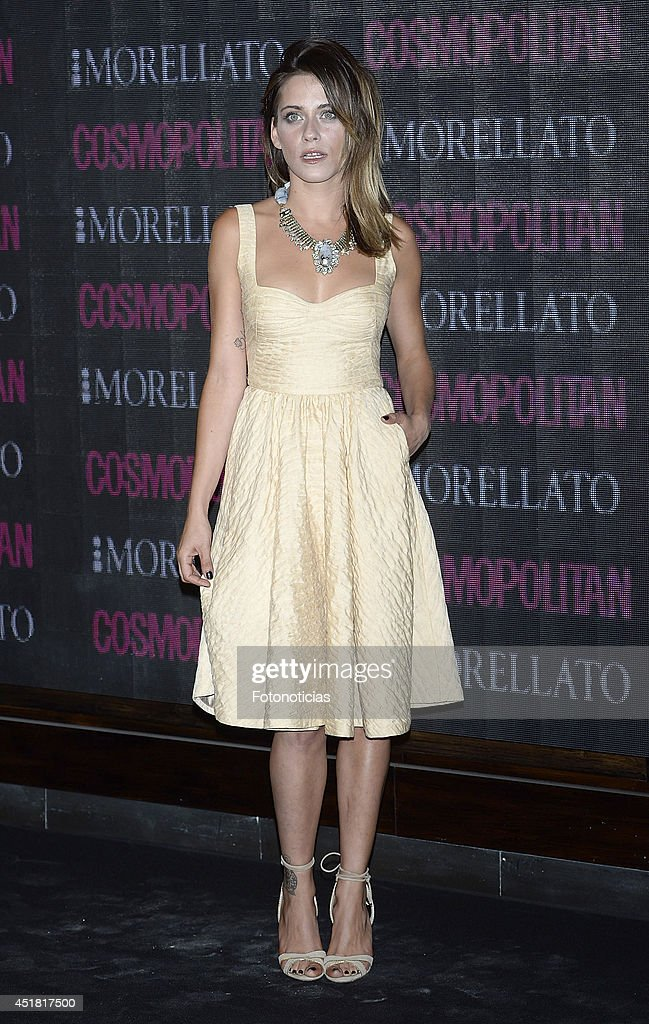 Maria Leon attends the Cosmopolitan Beauty Awards at Platea Restaurant on July 7, 2014 in Madrid, Spain.