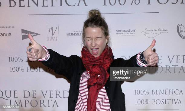 Maria Leon attends the 'Lo Que De Verdad Importa' premiere at the Hotel Vincci Capitol on February 15 2017 in Madrid Spain