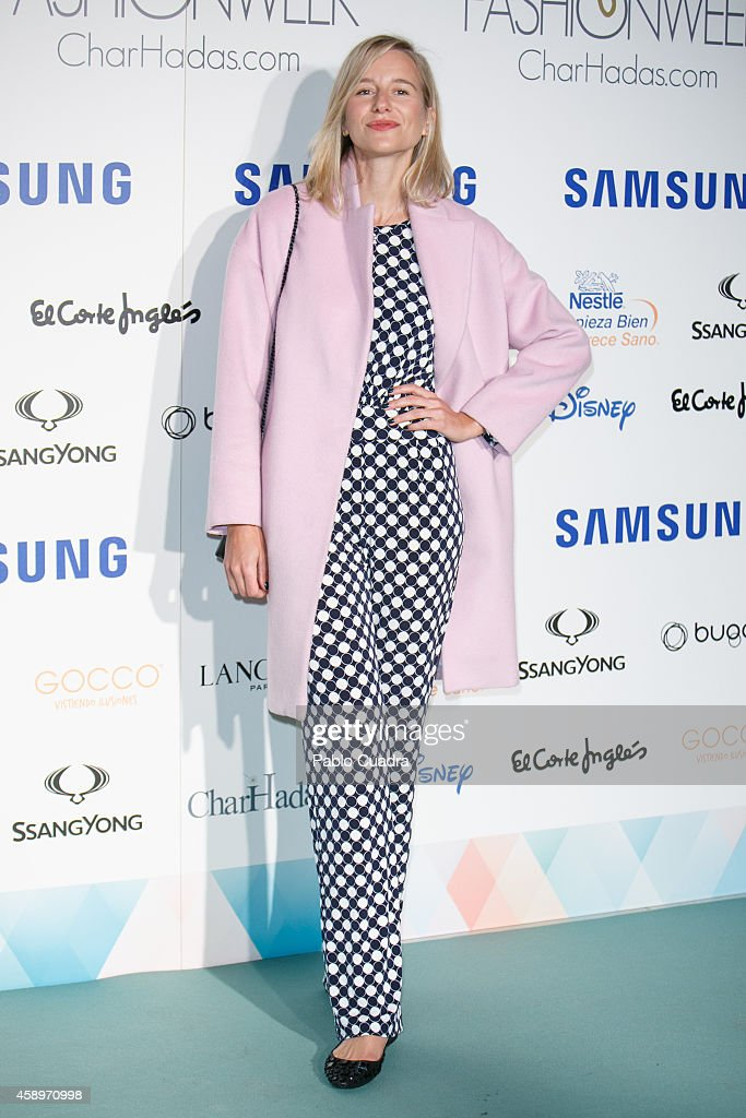 Maria Leon attends 'The Petite Fashion Week' event at Miguel angel Palace on November 14 2014 in Madrid Spain