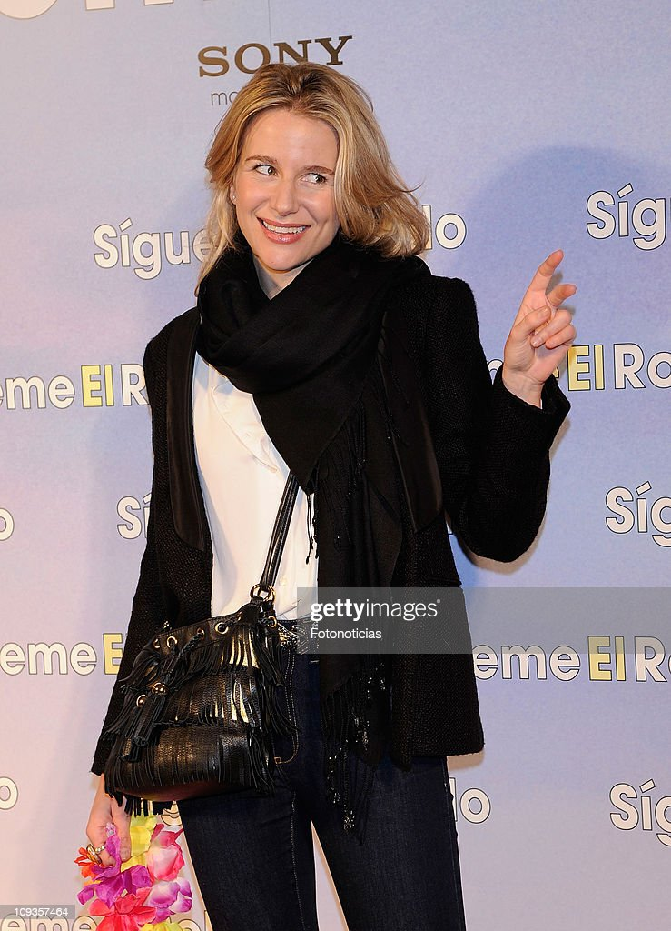 Maria Leon attends the premiere party of 'Sigueme el Rollo' (Just Go With It) at the Room Mate Oscar Hotel on February 22, 2011 in Madrid, Spain.