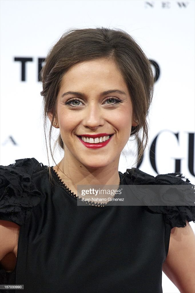 Maria Leon attends the presentation launch of the Vogue December issue at Fernan Nunez Palace on November 27, 2012 in Madrid, Spain.