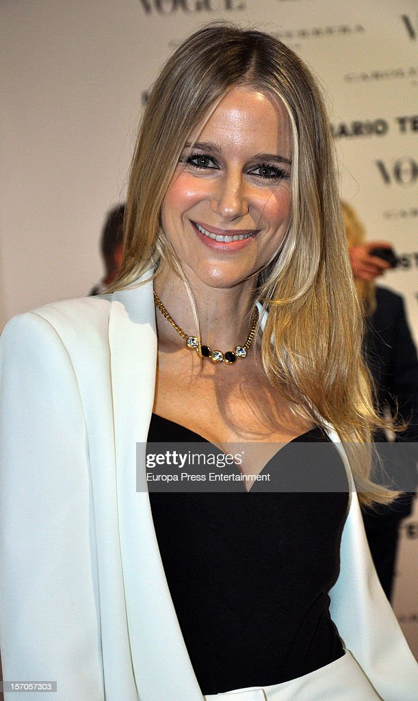 Maria Leon attends Vogue Magazine December issue launch party at Fernan Nunez Palace on November 27, 2012 in Madrid, Spain.