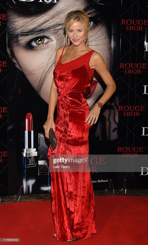 Maria Leon during Dior Gala Dinner in Madrid November 15 2006 at Stock Exchange Building in Madrid Spain