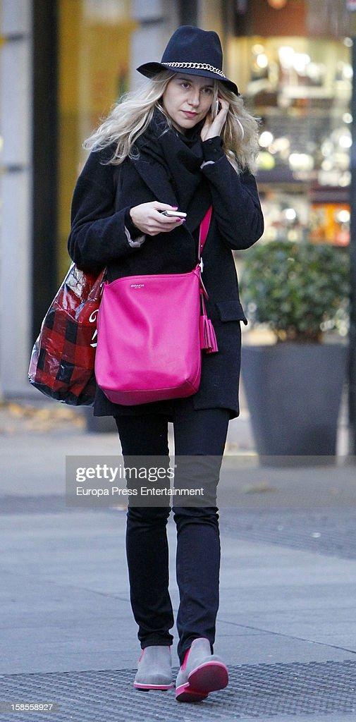 Maria Leon is seen on December 19 2012 in Madrid Spain