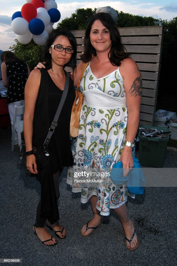 Maria Lopez and Lianne Alcon attend 22nd Annual Southampton Fresh Air Home American Picnic at Private Residence on July 3, 2009 in Southampton, New York.