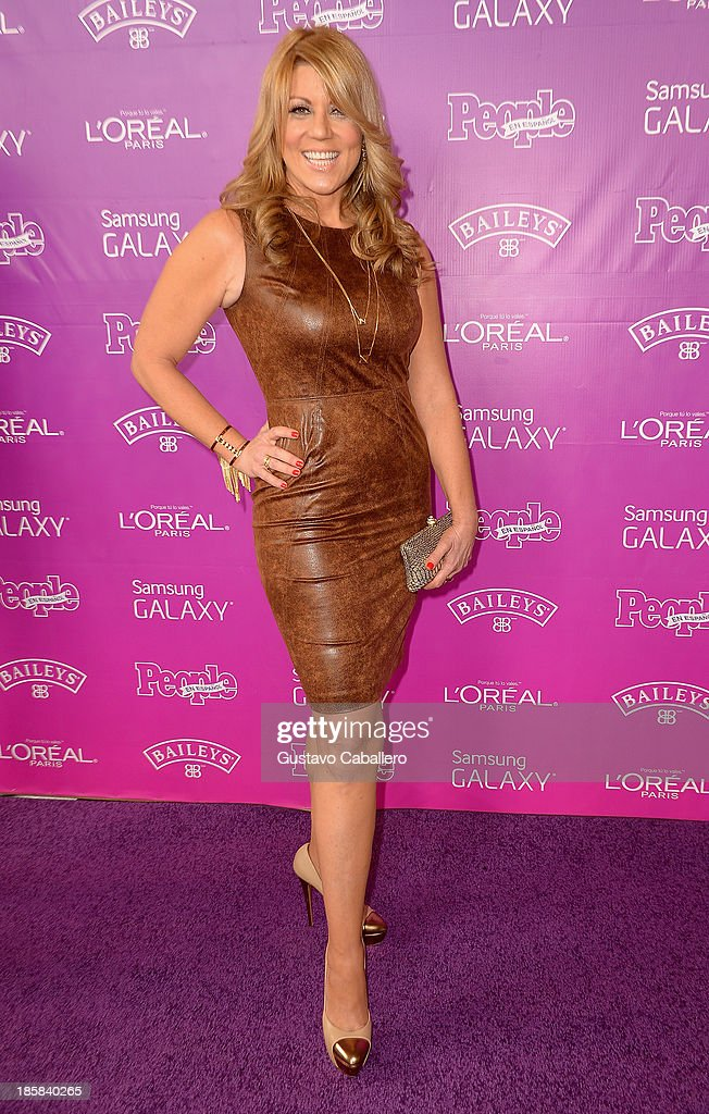 Maria Marin attends People En Espanols Las 25 Mujeres Mas Poderosas at Coral Gables Country Club on October 24, 2013 in Coral Gables, Florida.