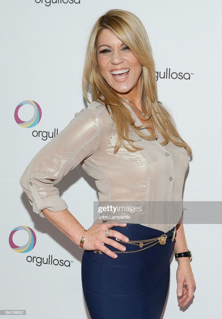Maria Marin attends 'Skirts Only' Fashion Show at 404 NYC on March 19, 2013 in New York City.