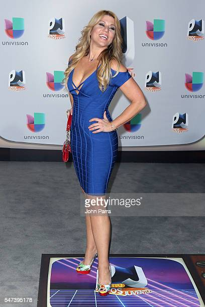 Maria Marin attends the Univision's 13th Edition Of Premios Juventud Youth Awards at Bank United Center on July 14 2016 in Miami Florida