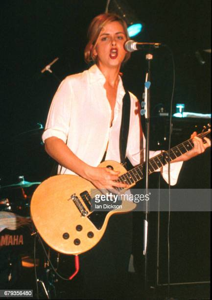Maria McKee performing on stage at Shepherds Bush Empire London 23 April 1996