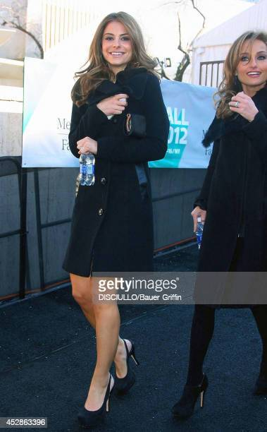 Maria Menounos and Giada De Laurentiis on February 09 2012 in New York City