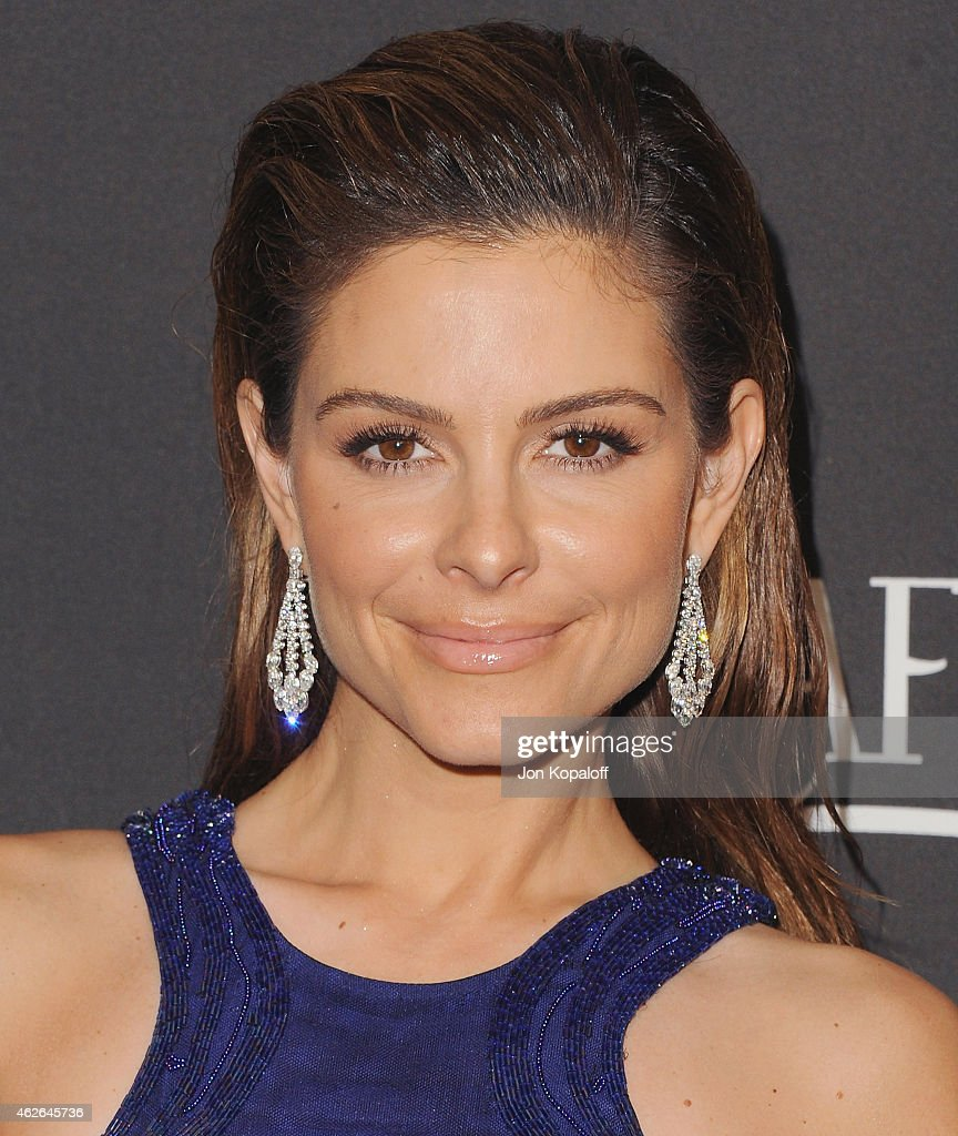 Maria Menounos arrives at the 16th Annual Warner Bros And InStyle PostGolden Globe Party at The Beverly Hilton Hotel on January 11 2015 in Beverly...