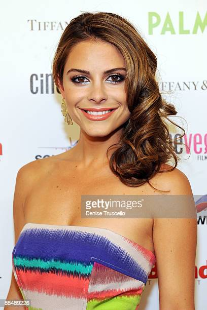 Maria Menounos arrives at the 2009 CineVegas Film Festival Filmmaker and Honoree Awards at The Palms Casino Resort on June 14 2009 in Las Vegas Nevada