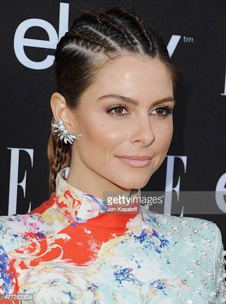 Maria Menounos arrives at the 6th Annual ELLE Women In Music Celebration Presented by eBay at Boulevard3 on May 20 2015 in Hollywood California