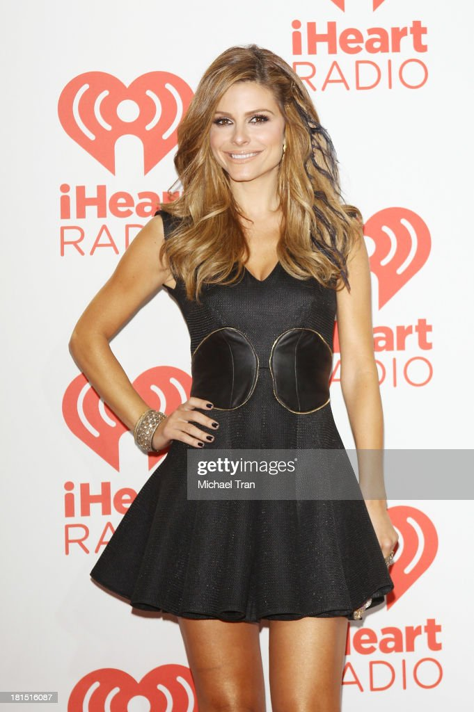 <a gi-track='captionPersonalityLinkClicked' href=/galleries/search?phrase=Maria+Menounos&family=editorial&specificpeople=203337 ng-click='$event.stopPropagation()'>Maria Menounos</a> arrives at the iHeartRadio Music Festival - press room - Day 2 held on September 21, 2013 in Las Vegas, Nevada.