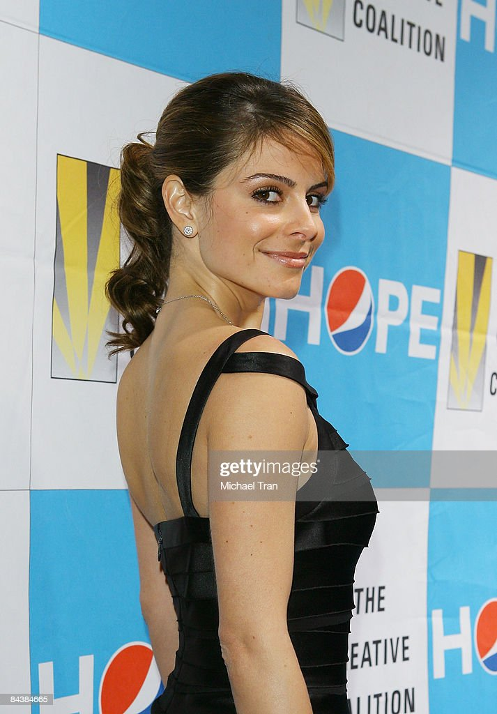 Maria Menounos arrives to the Creative Coalition's 2009 Inaugural Ball held at the Harman Center for the Arts on January 20 2009 in Washington DC