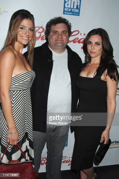 Maria Menounos Artie Lange and Cara Buono during 'Artie Lange's Beer League' New York City Premiere at The Ziegfeld Theatre in New York City New York...