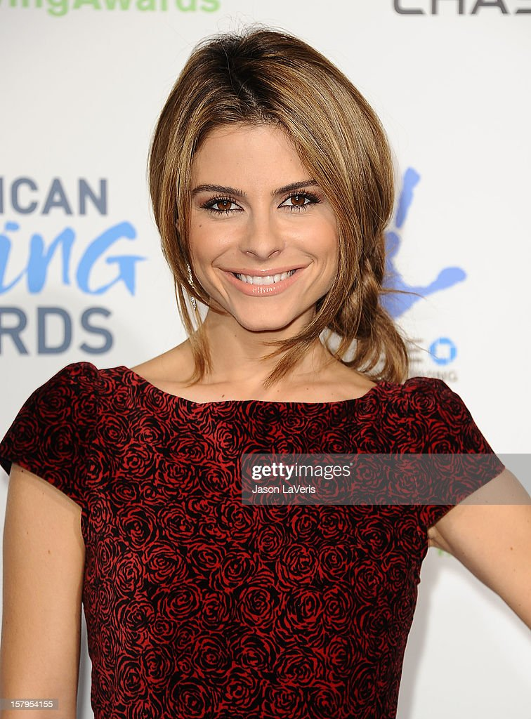 Maria Menounos attends 2012 American Giving Awards at Pasadena Civic Auditorium on December 7, 2012 in Pasadena, California.