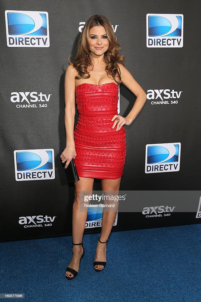 Maria Menounos attends DIRECTV Super Saturday Night Featuring Special Guest Justin Timberlake & Co-Hosted By Mark Cuban's AXS TV on February 2, 2013 in New Orleans, Louisiana.