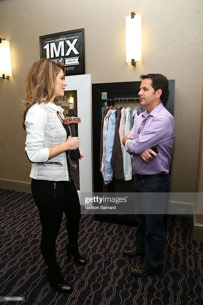 <a gi-track='captionPersonalityLinkClicked' href=/galleries/search?phrase=Maria+Menounos&family=editorial&specificpeople=203337 ng-click='$event.stopPropagation()'>Maria Menounos</a> attends EXPRESS 1MX Ultimate Shirt Shop & 'Welcome to New Orleans' Happy Hour at Hyatt French Quarter Hotel on January 31, 2013 in New Orleans, Louisiana.
