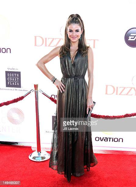 Maria Menounos attends the Dizzy Feet Foundation Second 'Celebration of Dance' Gala at Dorothy Chandler Pavilion on July 28 2012 in Los Angeles...