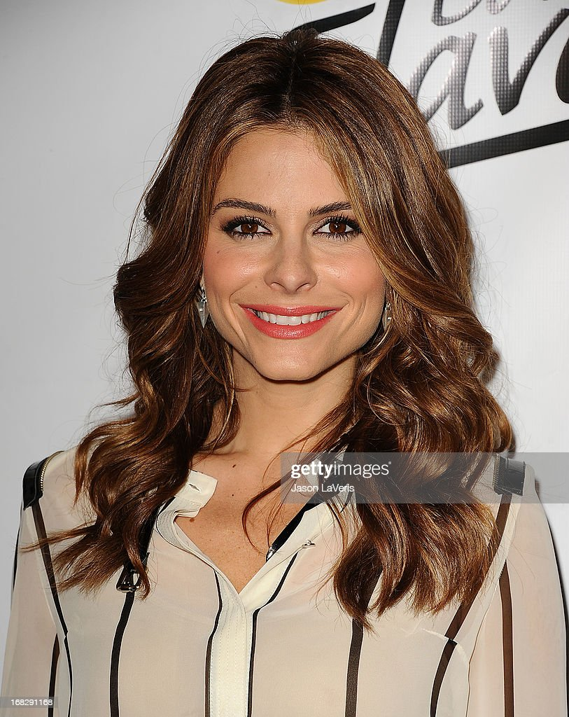 <a gi-track='captionPersonalityLinkClicked' href=/galleries/search?phrase=Maria+Menounos&family=editorial&specificpeople=203337 ng-click='$event.stopPropagation()'>Maria Menounos</a> attends the 'Do Us A Flavor' contest winner announcement at Beso on May 6, 2013 in Hollywood, California.