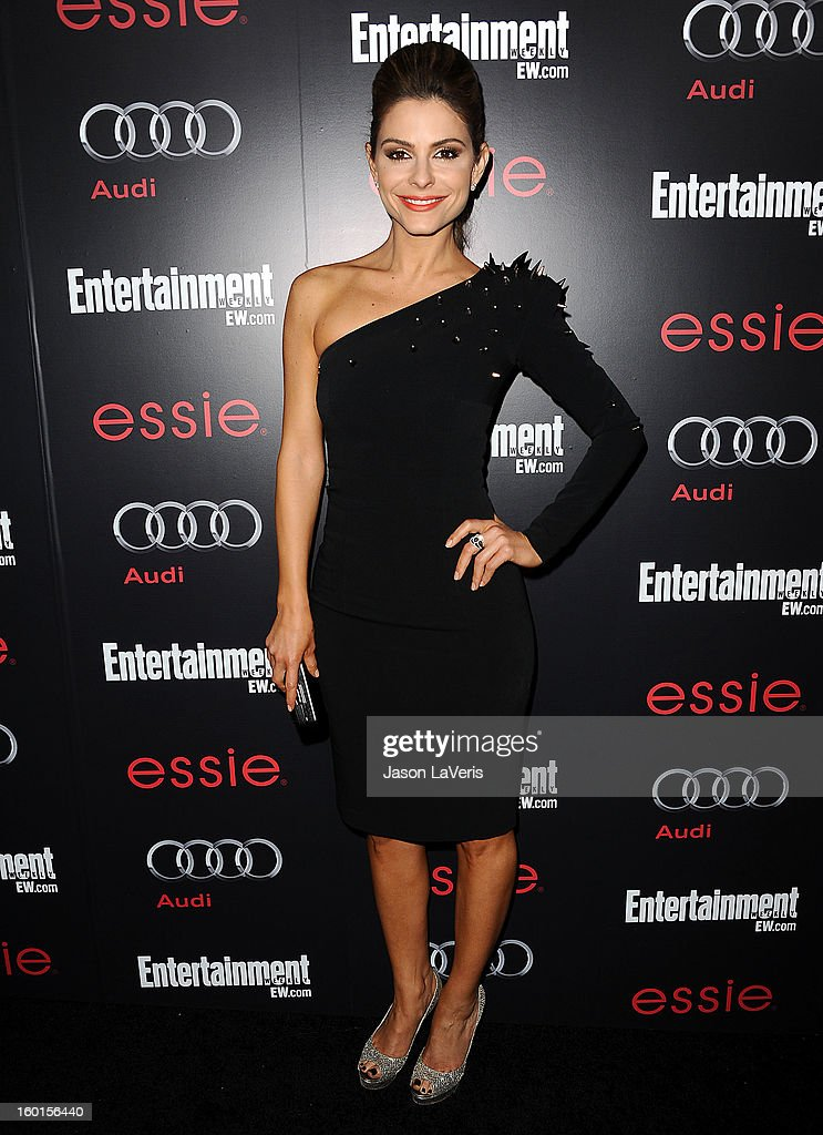 Maria Menounos attends the Entertainment Weekly Screen Actors Guild Awards pre-party at Chateau Marmont on January 26, 2013 in Los Angeles, California.