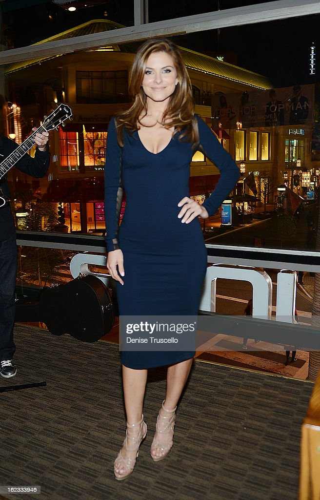 Maria Menounos attends the Have A Heart benefit for organ donor recipients and their families at Mixology LA at the Farmers Market on February 21, 2013 in Los Angeles, California.