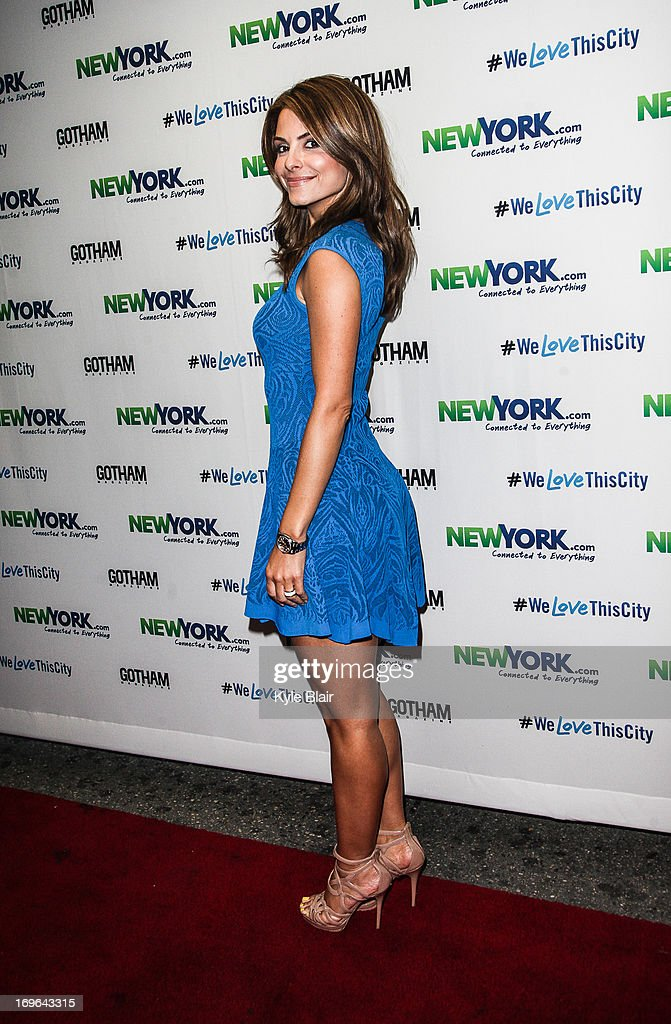 <a gi-track='captionPersonalityLinkClicked' href=/galleries/search?phrase=Maria+Menounos&family=editorial&specificpeople=203337 ng-click='$event.stopPropagation()'>Maria Menounos</a> attends the NewYork.com Launch Party at Arena on May 29, 2013 in New York City.