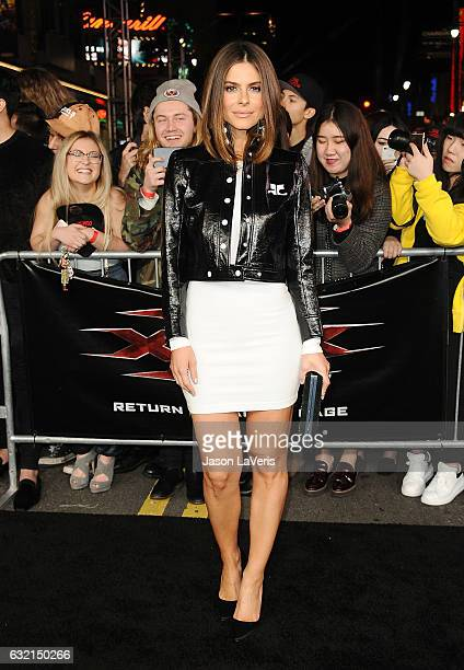Maria Menounos attends the premiere of 'xXx Return of Xander Cage' at TCL Chinese Theatre IMAX on January 19 2017 in Hollywood California