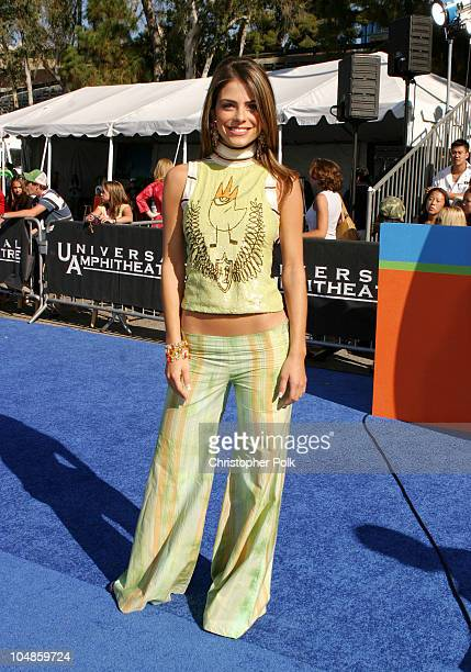Maria Menounos during 2003 Teen Choice Awards Arrivals at Universal AmphiTheater in Universal City California United States