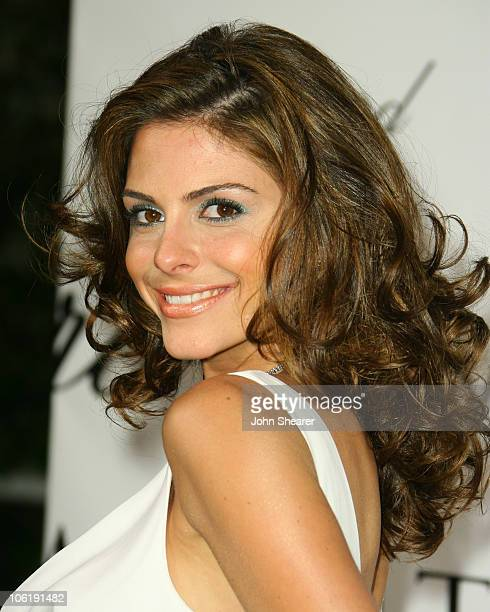 Maria Menounos during 2007 Cannes Film Festival Chopard Valentino Party at Nikki Beach in Cannes France