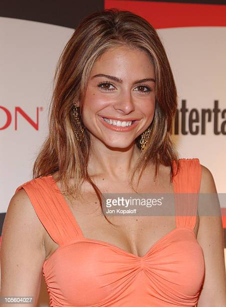 Maria Menounos during 2nd Annual Entertainment Weekly PreEmmy Party at The Hollywood Athletic Club in Hollywood California United States