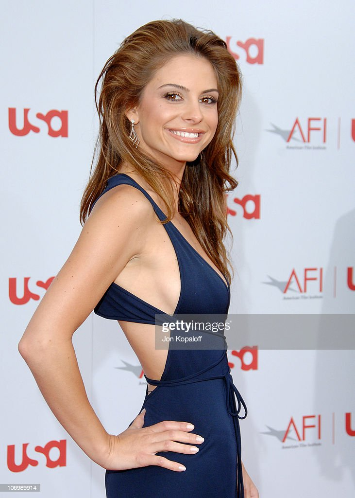 Maria Menounos during 34th Annual AFI Lifetime Achievement Award: A Tribute to Sean Connery - Arrivals at Kodak Theatre in Hollywood, California, United States.
