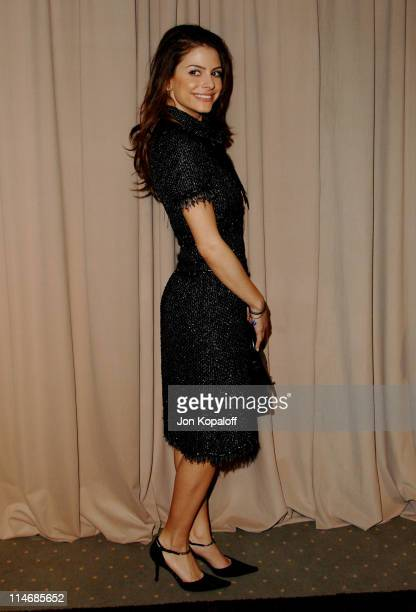 Maria Menounos during 6th Annual Awards Season Diamond Fashion Show Preview Hosted by Diamond Information Center and In Style at Beverly Hills Hotel...