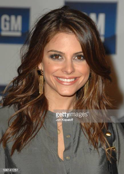 Maria Menounos during 6th Annual General Motors TEN Arrivals at Paramount Studios in Hollywood California United States