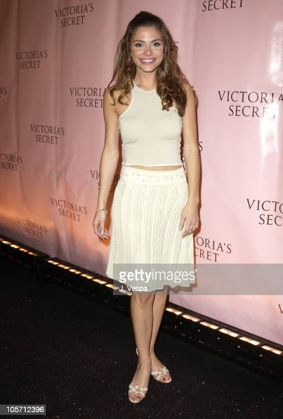 Maria Menounos during 8th Annual Victoria's Secret Fashion Show Arrivals at The New York State Armory in New York City New York United States
