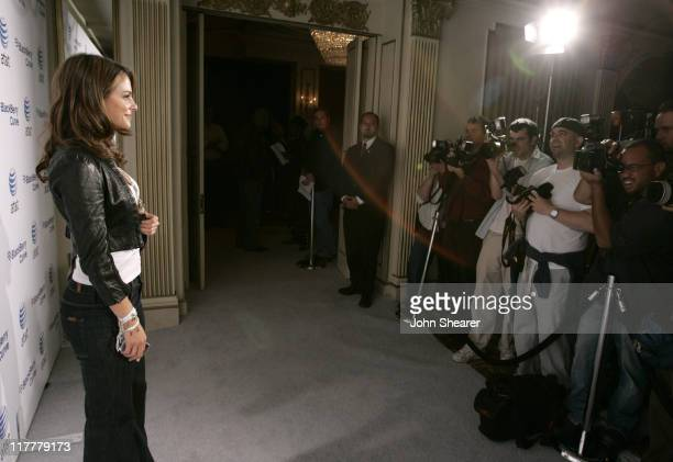 Maria Menounos during BlackBerry Curve from ATT Launch Party Red Carpet at Regent Beverly Wilshire in Beverly Hills California United States